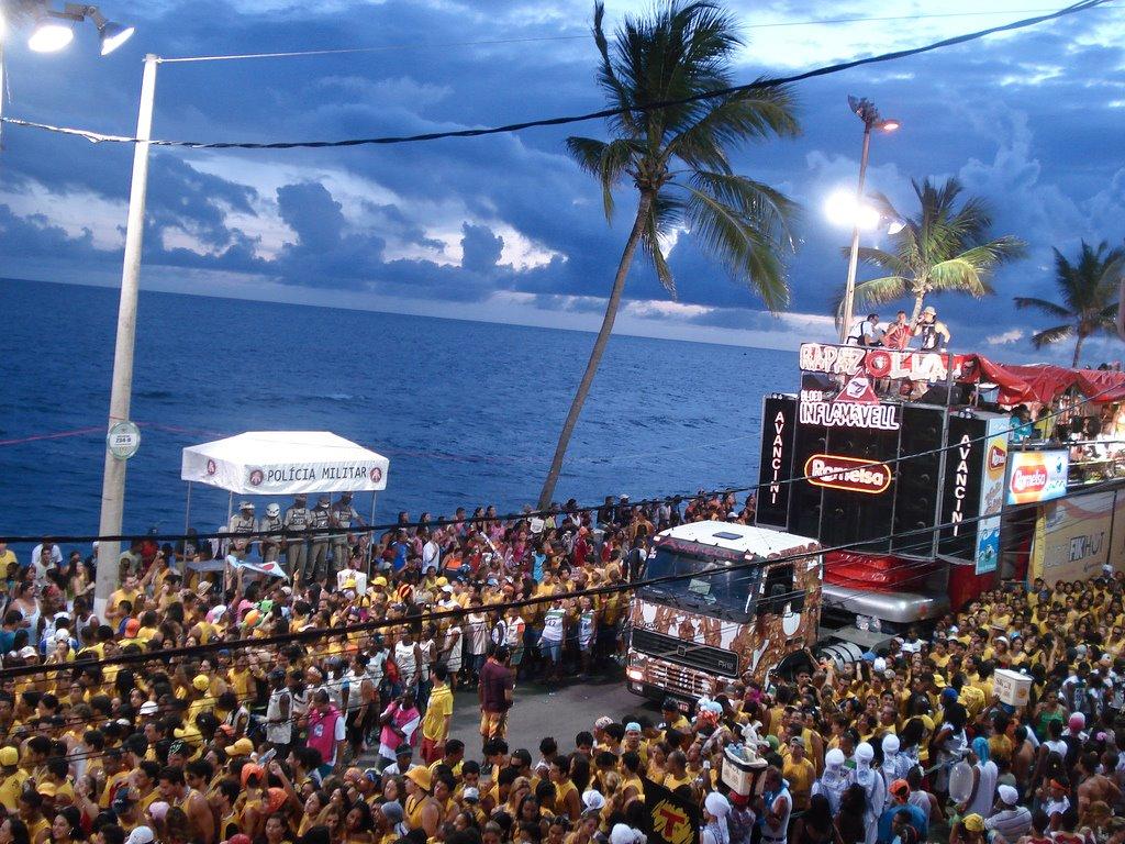 Color En El Carnaval De Salvador De Bahía