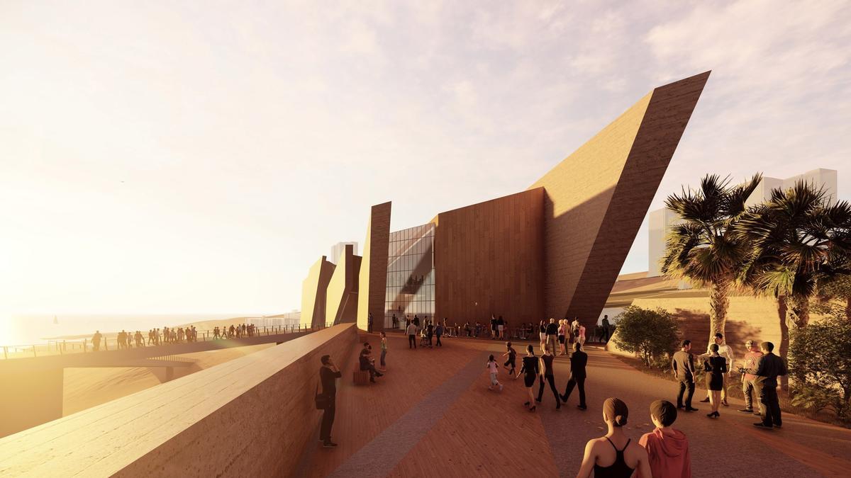 Museo regional en el desierto chileno obtiene nuevo diseño