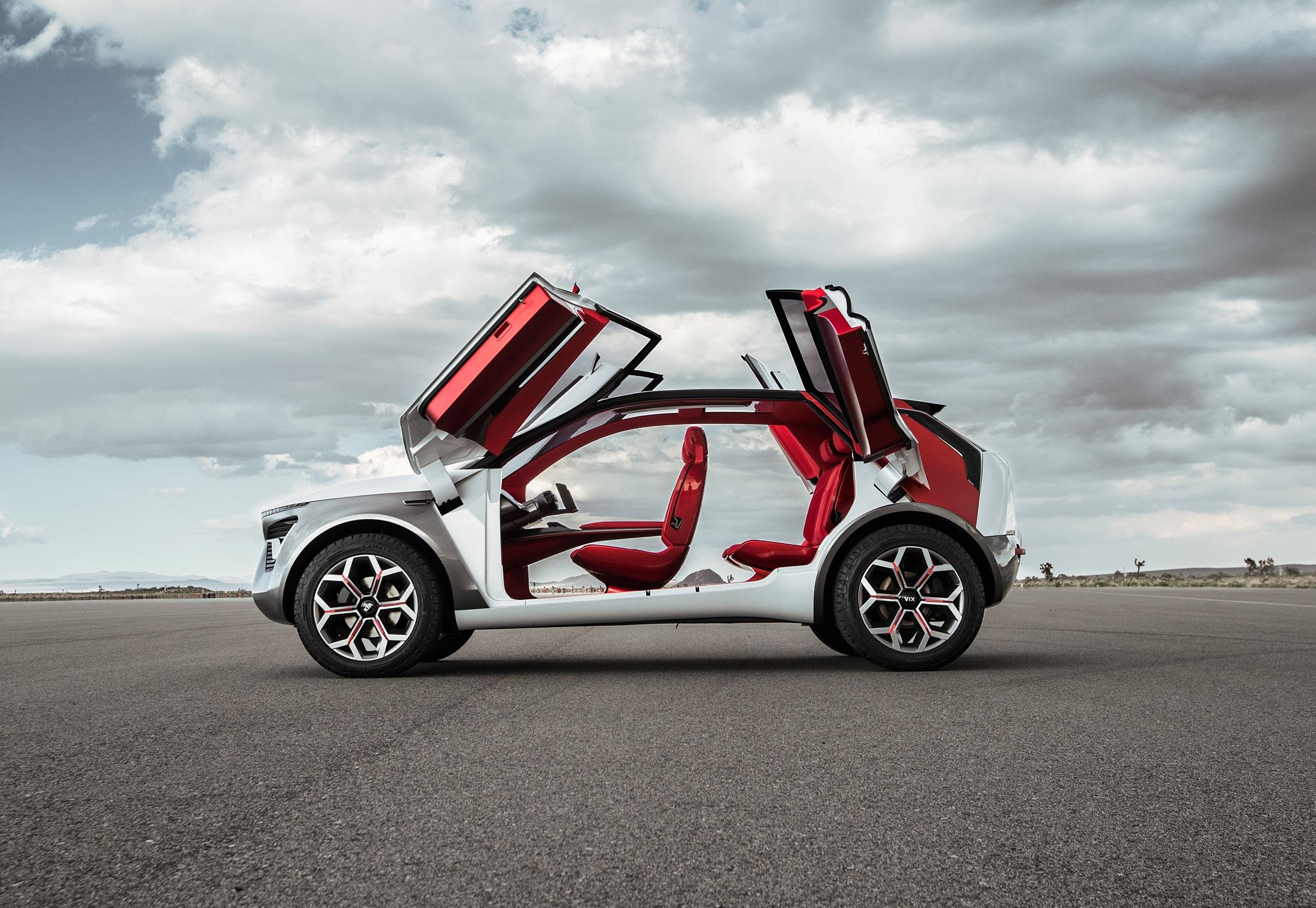 Kia HabaNiro, nueva visión picante de autos eléctricos