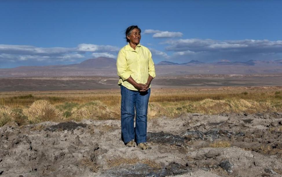 """Sara Plaza, otra víctima de la minería """"verde"""" en…"""