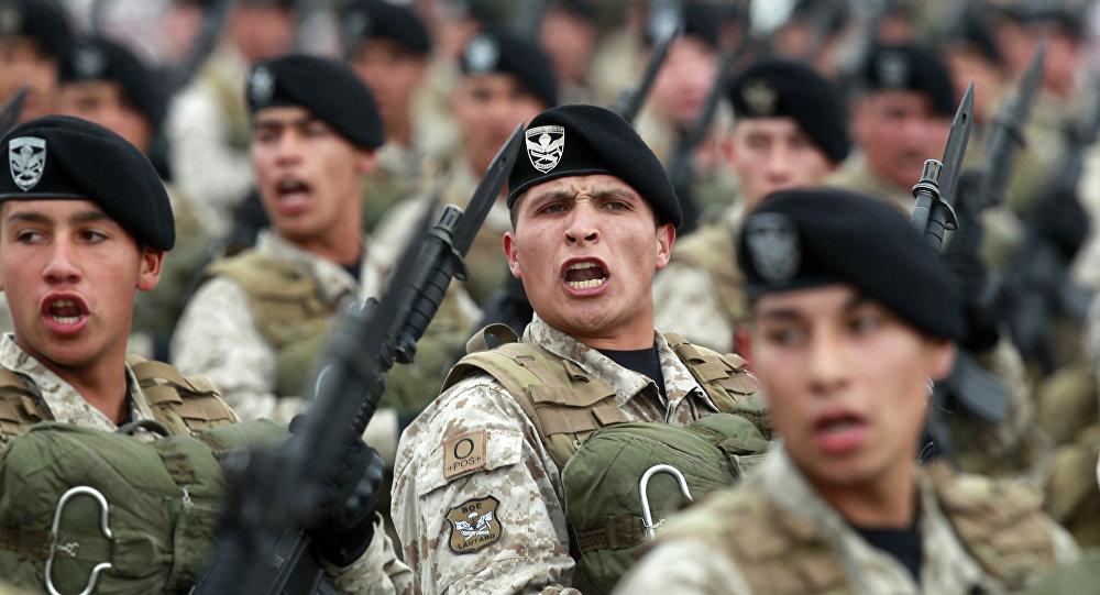 Chile despliega su fuerza en la Parada Militar